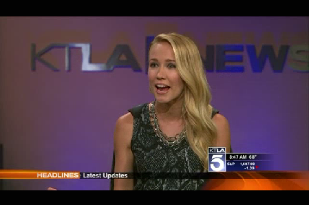 Anna Camp on KTLA News