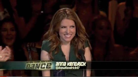 Anna Kendrick guest judge on 'So You Think You Can Dance'