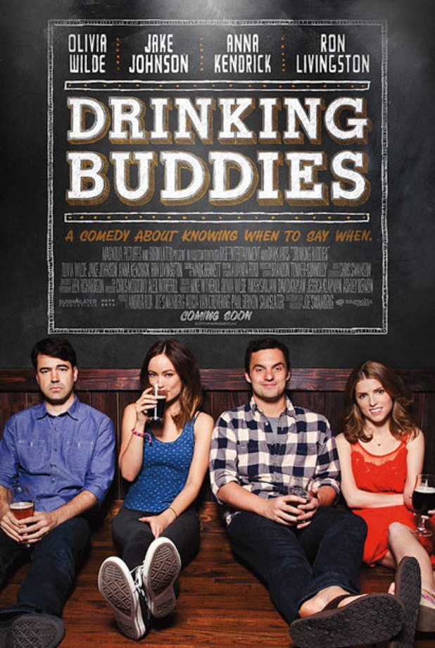 "Anna Kendrick's new movie ""Drinking Buddies"""