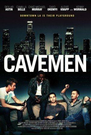 "Skylar Astin and Alexis Knapp in new movie ""Cavemen"""