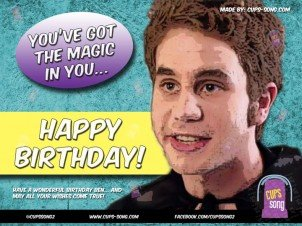 Happy Birthday Ben Platt!