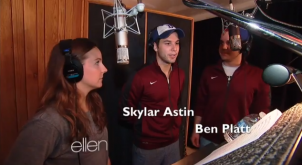 The Ellen Show visits the set of Pitch Perfect 2!