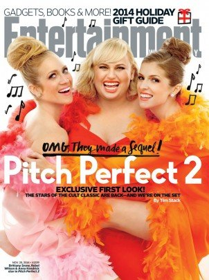 The Bellas are back! Pitch Perfect 2 in the cover of Entertainment Weekly!
