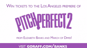 Win A Trip To The Hollywood Red Carpet Premiere Of PITCH PERFECT 2 And Meet ELIZABETH BANKS!