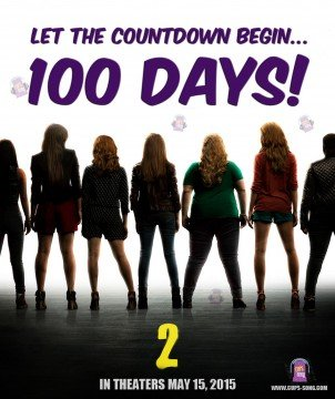 Pitch Perfect 2 – Countdown – 100 Days!