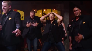 Green Bay Packers in the new Pitch Perfect 2 trailer!