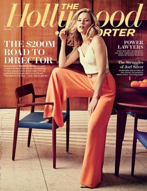 Elizabeth Banks on the cover of The Hollywood Reporter