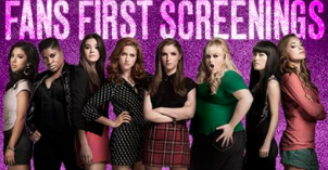 Pitch Perfect 2 Fans First Screenings