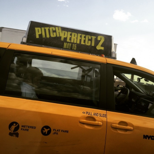 Pitch Perfect 2 is in New York!