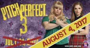 Pitch Perfect 3 shifts Release Date