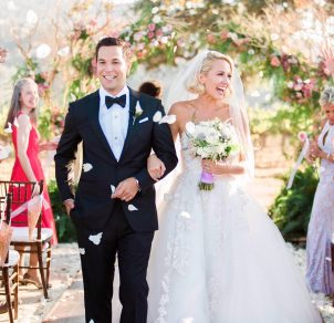 Congratulations to Anna Camp and Skylar Astin… They got married!