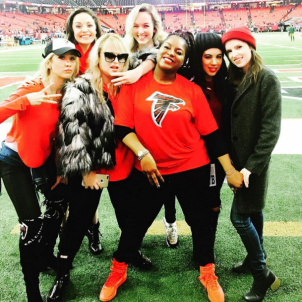 The Bellas at NFL Game – Falcons vs. Packers