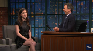 Anna Kendrick interview with Seth Meyers – Late Night