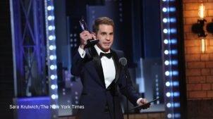 Ben Platt wins Tony Award!