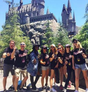 Bellas Post-production Hangouts – Universal Studios!