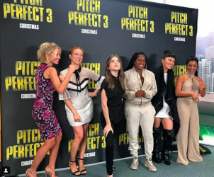 Pitch Perfect 3 at VidCon