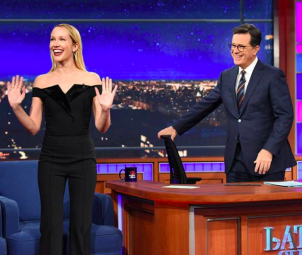 Anna Camp on The Late Show with Stephen Colbert