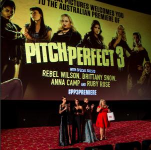 Pitch Perfect 3 – Australian Premiere