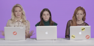 "Buzzfeed – Anna Kendrick, Anna Camp, and Brittany Snow Find Out Which ""Pitch Perfect"" Character They Really Are"