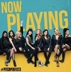 It's Pitchmas! – Pitch Perfect 3 in U.S. theaters today!